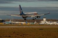 RA-64016 @ SZG - KMV Tupolev 204 - by Yakfreak - VAP