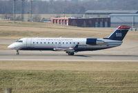 N402AW @ CVG - U.S. Airways Express