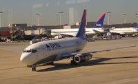 N310DA @ ATL - Delta 737-200