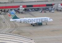 N921FR @ ATL - Frontier