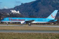 G-BYAN @ SZG - Thomsonfly Boeing 757-200 - by Yakfreak - VAP