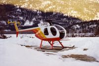 C-GPGE - Taken when it was owned by Pemberton Helicopters - by Dennis Butorac