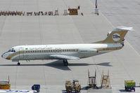 5A-DLV @ VIE - Libyan Arab Airlines Fokker 28 - by Yakfreak - VAP