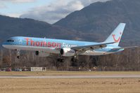 G-BYAN @ SZG - Thomson 757-200 - by Andy Graf-VAP