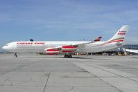 C-GZIA @ VIE - Canada 3000 Airbus 340-300 - by Yakfreak - VAP