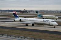 N999DN @ ATL - Delta MD-80