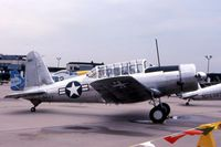 N63884 @ KMDW - BT-13A 41-9599 - by Glenn E. Chatfield