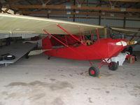 N12969 - NX12969 in the hangar - by Bill Church