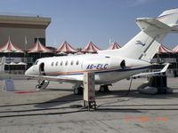 A6-ELC @ OMDB - Hawker 850XP - by Syed Rasheed