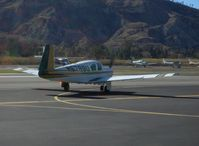 N6788U @ SZP - 1963 Mooney M20D/C MASTER conversion to retractible gear, Lycoming O&VO-360 180 Hp, taxi - by Doug Robertson