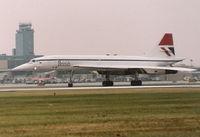 G-BOAA @ DTW - Concorde