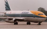 C-FNAQ @ CYQG - Nordair 737