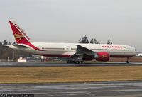 N5017V @ KPAE - Air India VT-ALA first flight from Paine Field - by Matt Cawby