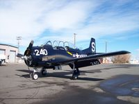 N128BS @ KALS - North American T-28B - by Mark Pasqualino