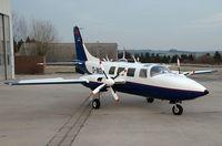 D-INGU @ ZQW - Piper Aerostar 601P - by Volker Hilpert
