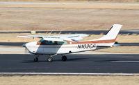 N102CR @ PDK - Landing Runway 34 - by Michael Martin