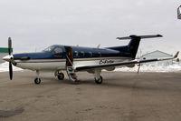 C-FVPK @ CYKF - At the AirSprint hangar - by Nigel Hay