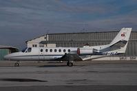 HB-VLZ @ VIE - Sky Work Cessna 550 Citation 2 - by Yakfreak - VAP