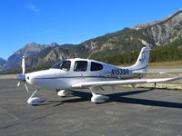 N153SR @ LFMR - Short landing in Barcelonette (LFMR - France) for lunch - by P E SLOSSE