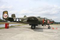 N1943J @ FA08 - North American B-25N - by Mark Pasqualino