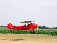 N12941 @ C37 - Take off at Brodhead - by Mike Madrid