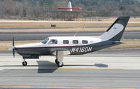N4160N @ PDK - Taxing to Epps Air Service - by Michael Martin