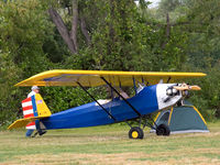 N123MS @ AJO - Camping out West Coat Pietenpol Fly In - by Mike Madrid