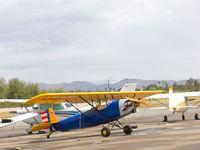 N123MS @ AJO - West Coas Pietenpol Fly In - by Mike Madrid