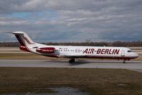 D-AGPQ @ MUC - Air Berlin Fokker 100
