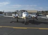 N3821X @ SZP - 1966 Cessna 310K, two Continental IO-470 260 Hp each - by Doug Robertson