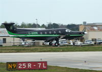 C-GODE @ DAB - Pilatus PC-12 - by Florida Metal