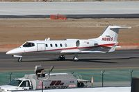 N68ES @ LAX - Premier Aviation Leasing LLC's 2001 Bombardier Learjet 31A N68ES taxiing to the north complex for departure to Santa Monica Municipal (KSMO). - by Dean Heald