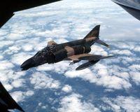 66-7596 - Refueling mission - by Glenn E. Chatfield