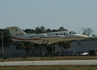 N123DG @ DAB - Lear 24 - by Florida Metal