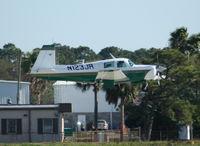 N123JR @ DAB - Mooney M20E - by Florida Metal