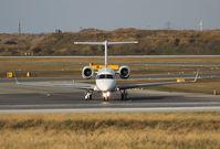 N135SG @ VIE - United Aviation  Embraer Legacy taxiing RWY 29 - by Dieter Klammer