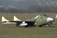 5C-YC @ GRZ - Vampire Austrian Air Force - by Yakfreak - VAP