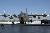 8T-CB @ LNZ - Austrian Air Force Lockheed C130 Hercules