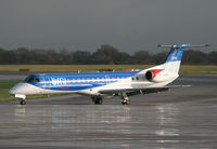 G-RJXN @ EGCC - Lastest Embraer for BMI - by Kevin Murphy
