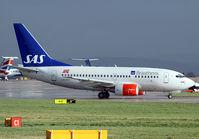 LN-RRY @ EGCC - SAS 737 - by Kevin Murphy