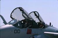 162230 @ ORD - EA-6B cockpits - by Glenn E. Chatfield