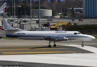 N247DH @ KPAE - Departing Paine Field for KBFI - by Matt Cawby
