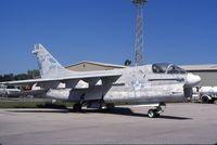 153150 @ M70 - A-7 at an aviation mechanics school - by Glenn E. Chatfield