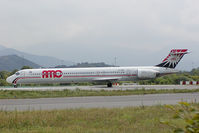 SU-BMQ @ BGY - AMC Aviation MD90
