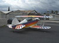 N11MC @ SZP - 1993 Woodward Christen Eagle II, Lycoming AEIO-360 fully aerobatic, refueling - by Doug Robertson