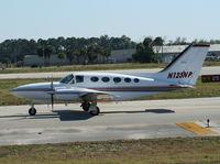 N123NP @ DAB - Cessna 421C - by Florida Metal