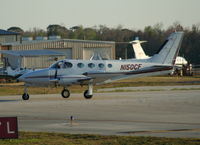 N150CF @ DAB - Cessna 340A