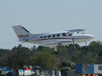 N384AM @ DAB - Cessna 421B