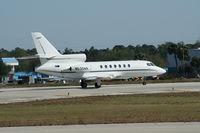 N530AR @ DAB - Falcon 50