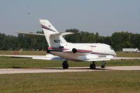 N521FL @ YIP - Falcon 20